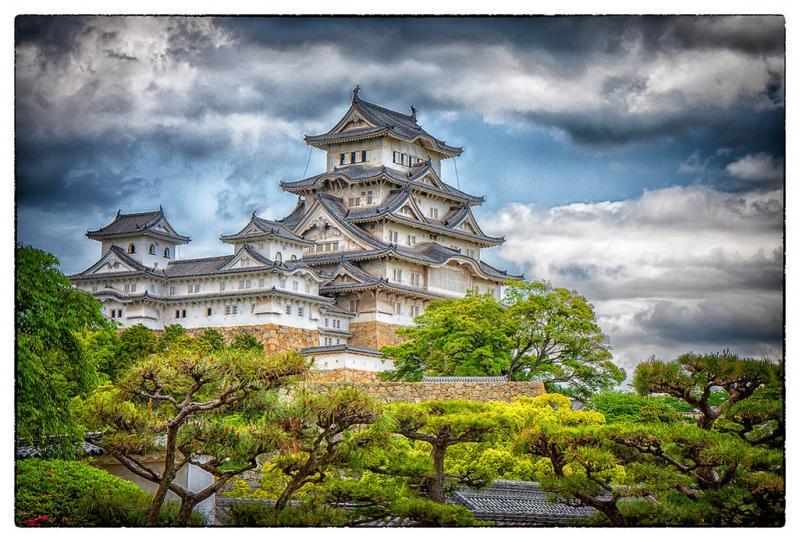 Dit wit kasteel is één van de bekendste van Japan.