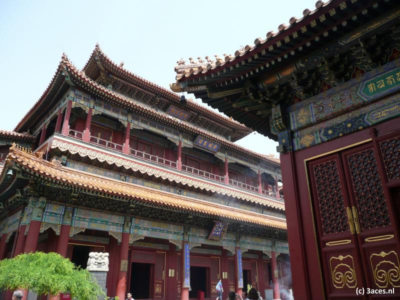 Traditioneel Chinese gebouwen.