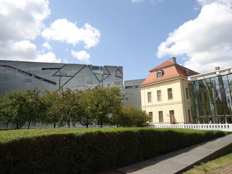 Joods Museum Berlijn, buitenaanzicht