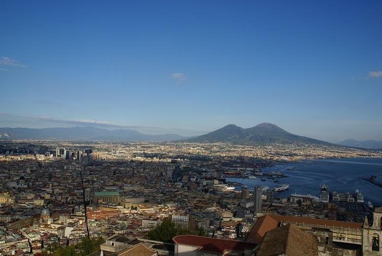 Messina in vogelperspectief.