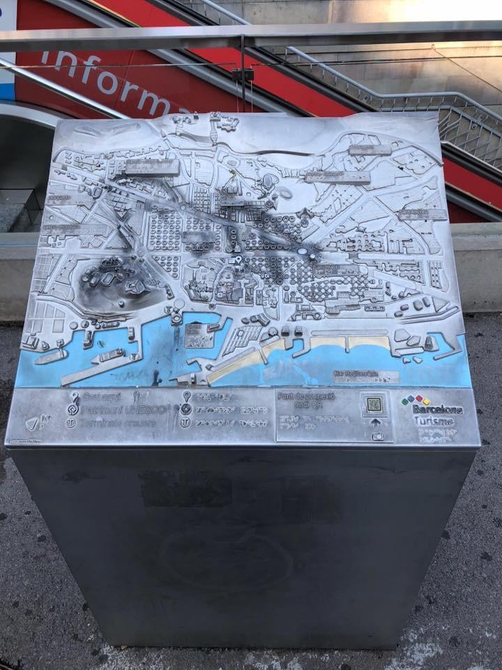Voelplattegrond Barcelona