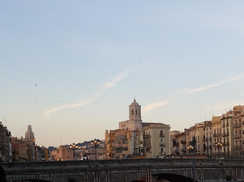 Het stadscentrum van Girona