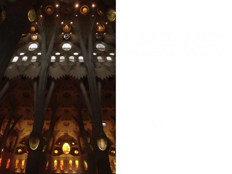 Binnenzicht van de kathedraal.